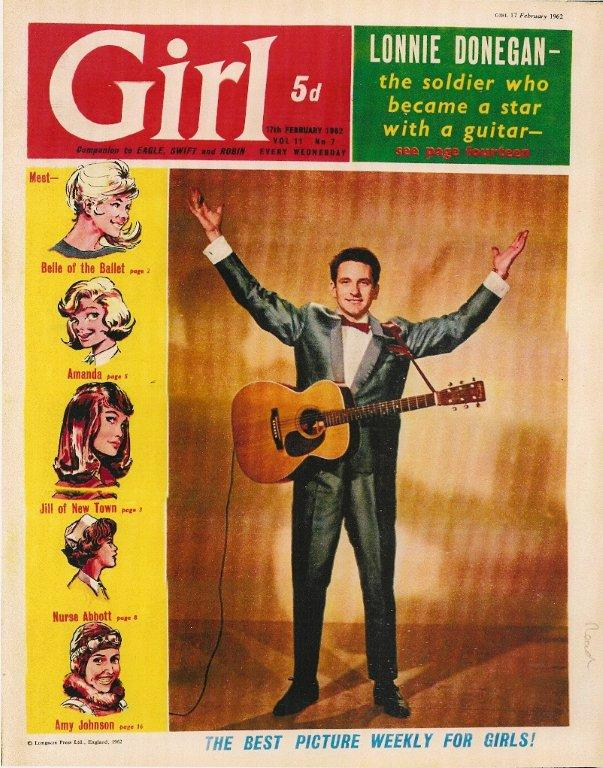 Girl Magazine Cover