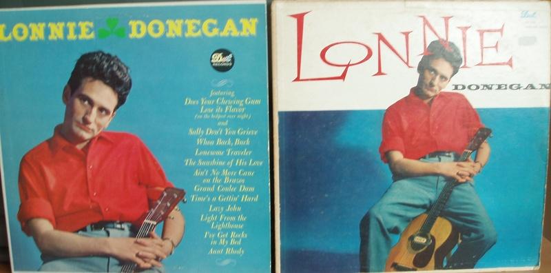 Both LP's called Lonnie Donegan