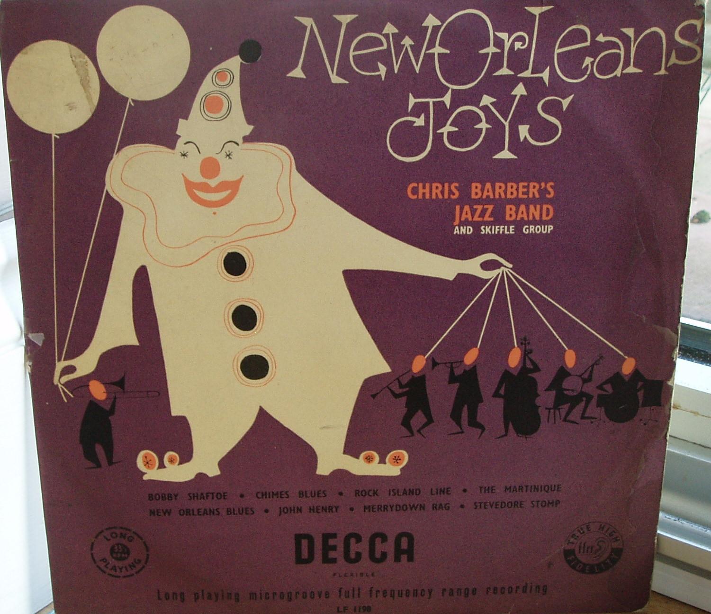 """New Orleans Joys 1954 10""""LP"""